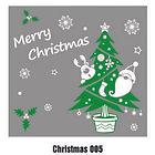 Christmas Wall Tattoo - 005