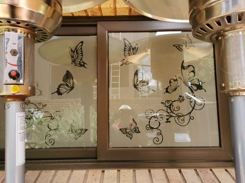 Sandblast Window