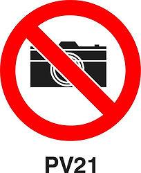 PV21 - Camera prohibited