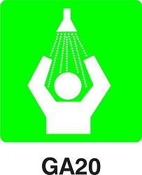 GA20 - Safety shower
