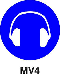MV4 - Hearing protection shall be worn