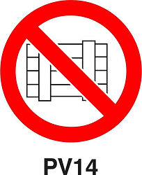 PV14 - Do not obstruct