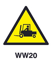 WW20 - Beware of forklifts