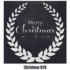 Christmas Wall Tattoo - 019