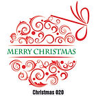 Christmas Wall Tattoo - 020
