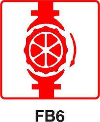 FB6 - Sprinkler stop valve