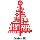Christmas Wall Tattoo - 002