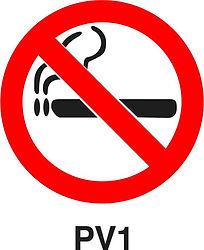 PV1 - Smoking prohibited