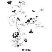 Wall Tattoo 034