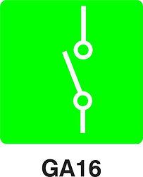 GA16 - Electronic isolator switch