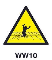 WW10 - Warning of fragile floor