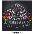 Christmas Wall Tattoo - 010