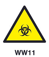 WW11 - Warning of biolohical hazard