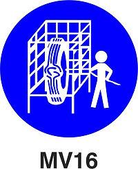 MV16 - Use safety cage