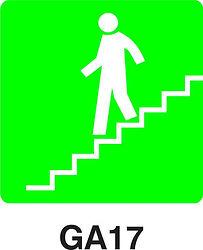 GA17 - Stairs going down