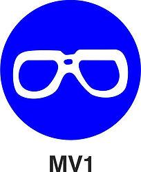 MV1 - Eye protection shall be worn