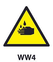 WW4 - Warning of corrosion hazard