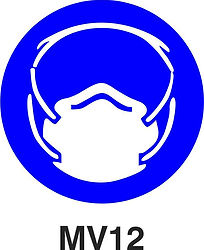 MV12 - Dust mask shall be worn