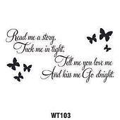 Wall Tattoo 103