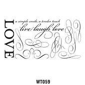 Wall Tattoo 059