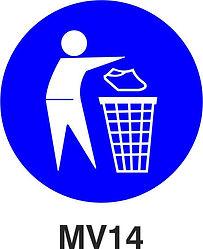 MV14 - Keep area clean