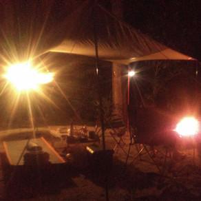 アニキとキャンプ