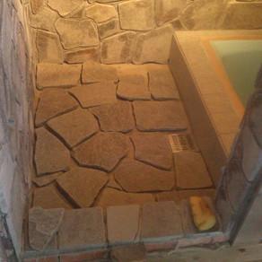 薪集め 風呂作り36