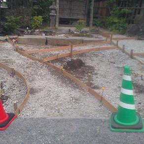 旅館お庭工事⑧