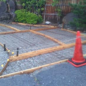 旅館お庭工事11