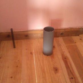 床張り19 給・排水パイプ