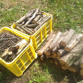 床張り29 ・薪・草刈り