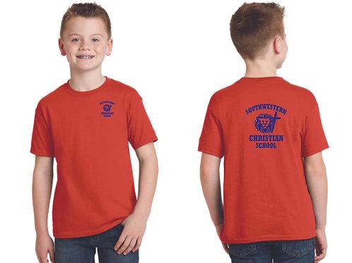 Southwestern PE Shirt K-5th grade