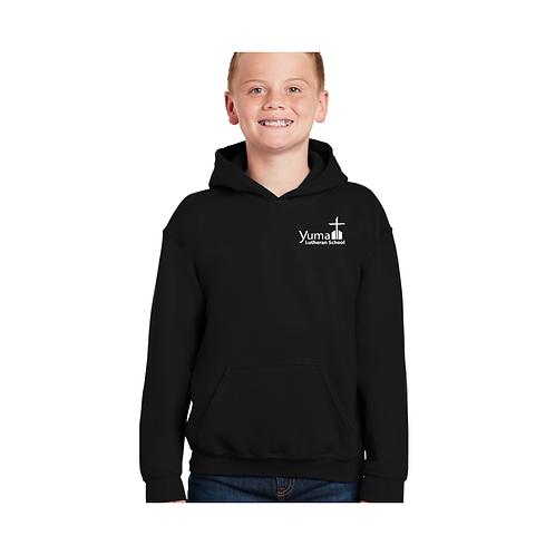 Gildan Hooded Sweatshirt (youth and adult)