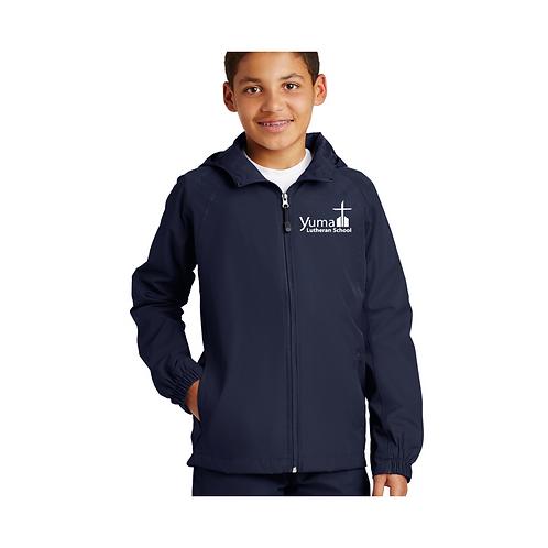 SPORT-TEK Hooded Raglan Jacket (youth and adult)