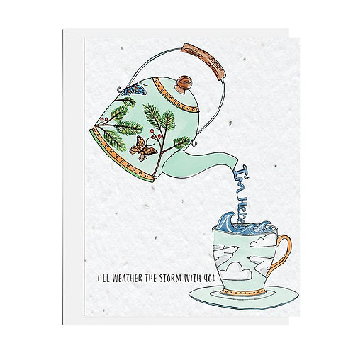 Wildflower seed card - I'm Here