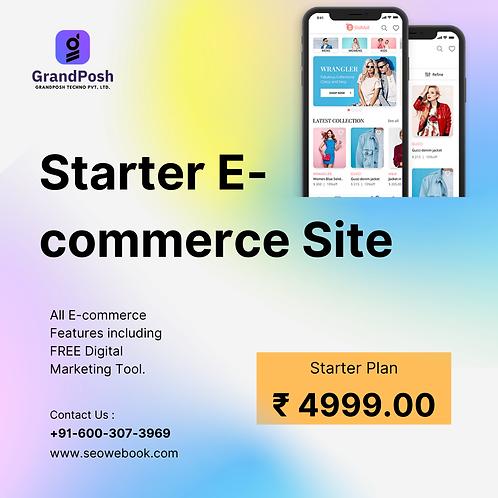Starter E-commerce Website