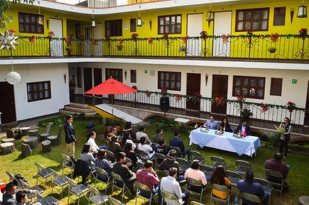 Jardin Hotel en Huamantla. Hotel Las Candelas
