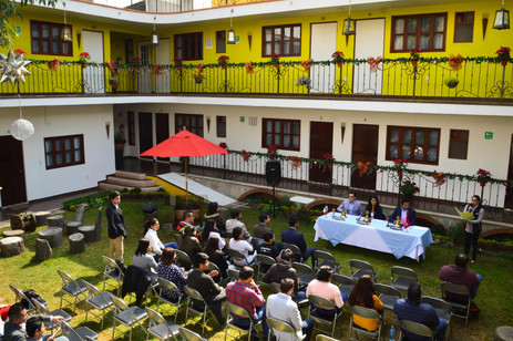 Evento en Patio de Hotel Las Candelas