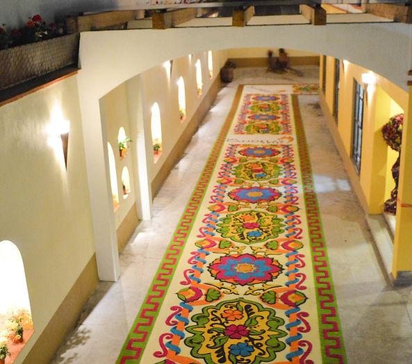 Alfomba en Hotel Las Candelas Huamantla Tlaxcala Pueblo Magico
