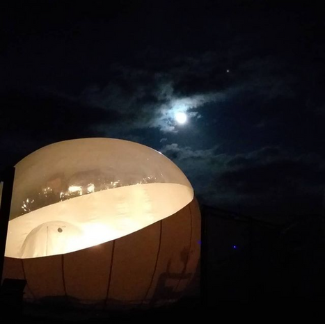 Glamping Amate. Glamping Mexico. Noche