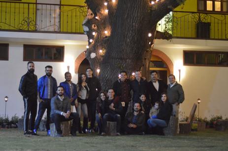 Amigos en Hotel Las Candelas
