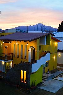 Atardecer en Hotel en Huamantla. Hotel Las Candelas Huamantla Tlaxcala Pueblo Magico