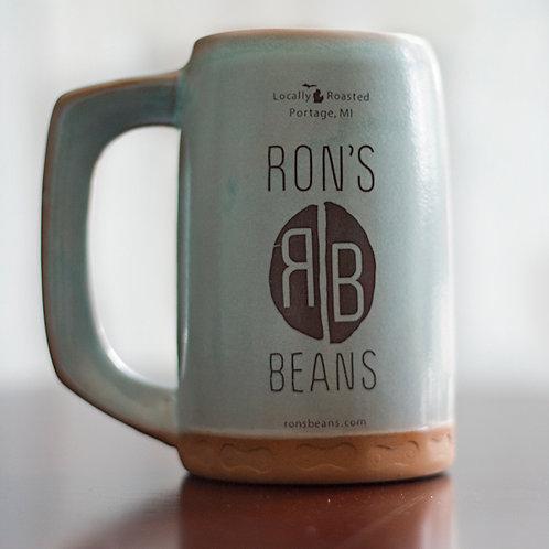 Ron's Beans Ceramic Mug