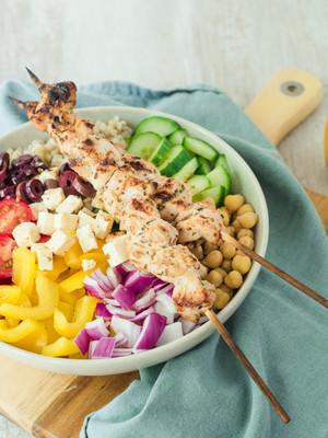 Mediterranean-Inspired Nourish Bowl Recipe