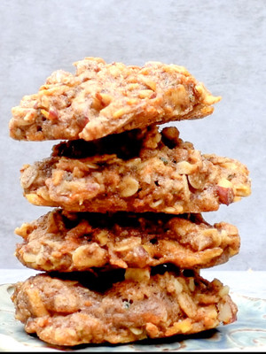 Apple Pie Muffin Top Cookies