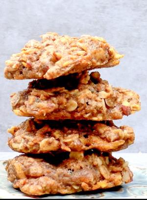 Apple Pie Muffin Top Cookies
