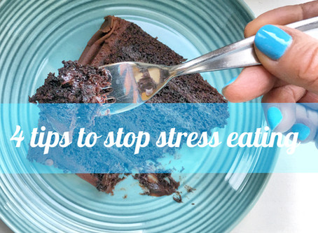 4 tips to stop stress eating