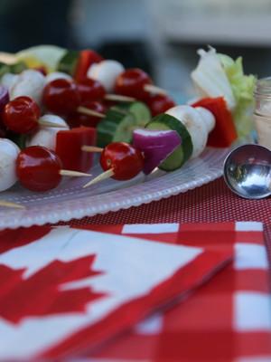 Simple Food: Salad on a Stick