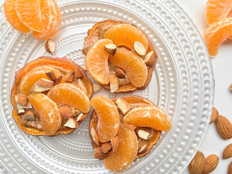 Real Food Fuel: Heart Healthy Citrus Sweet Potato Toast with Nut Butter