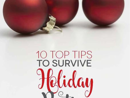 Surviving Holiday Party Season